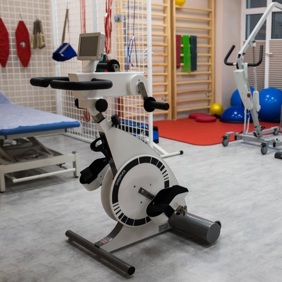Sala rehabilitacyjna - Dom Seniora w Bornem Sulinowie