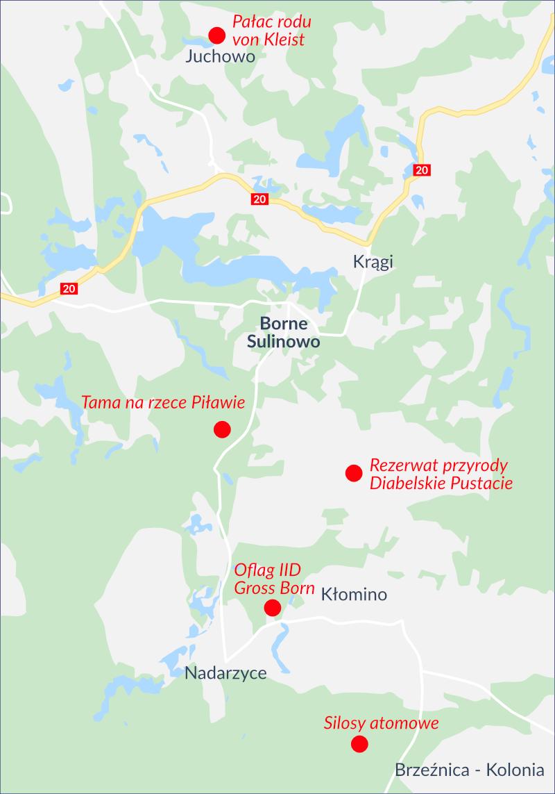 Senior Residence Borne - mapa