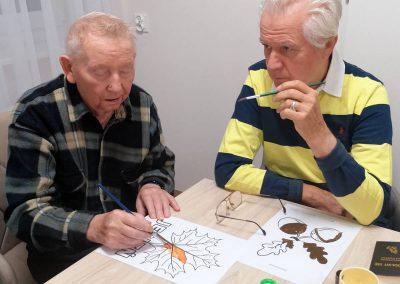 Senior Residence Borne - zajęcia plastyczne