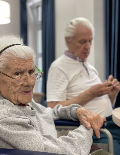 Dom Seniora w Bornem Sulinowie - terapia zajęciowa